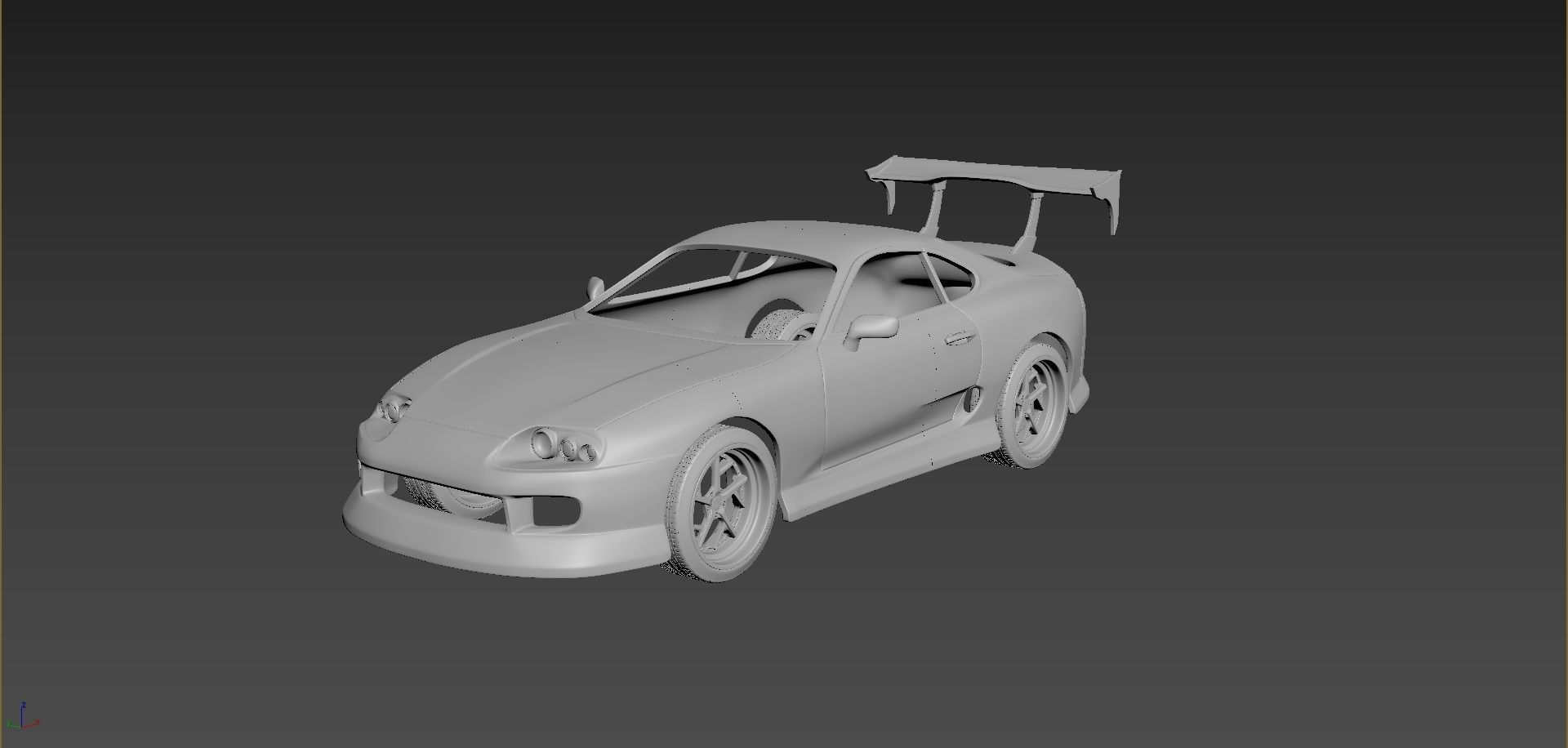 Toyota Supra 1993 Tuning Body For Print