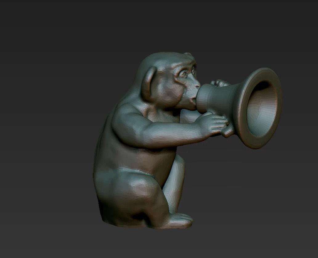 horoscope symbol silent monkey chinese 2016 say nothing 001