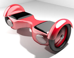 Hoverboard - Type 1 3D