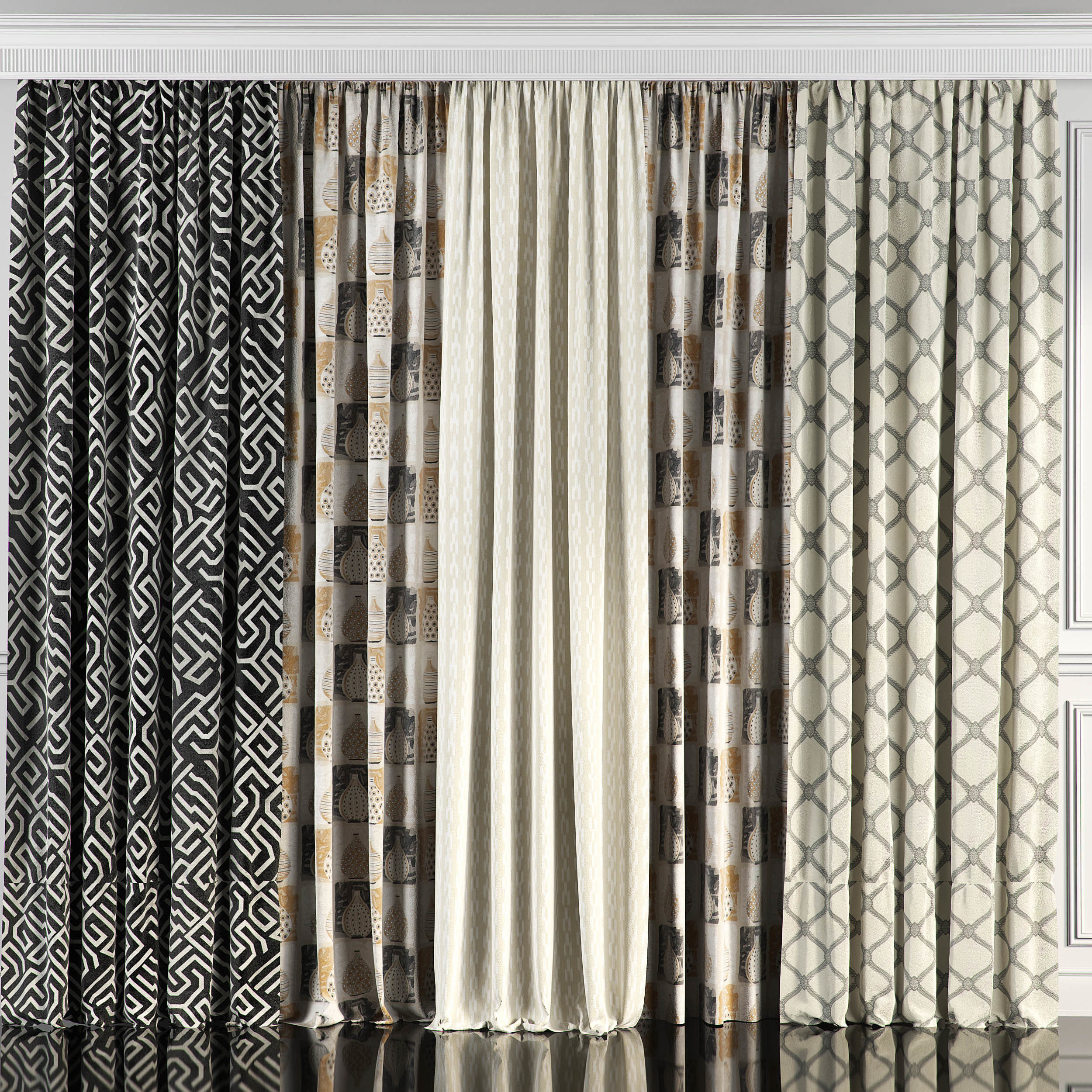 Curtain Set 63