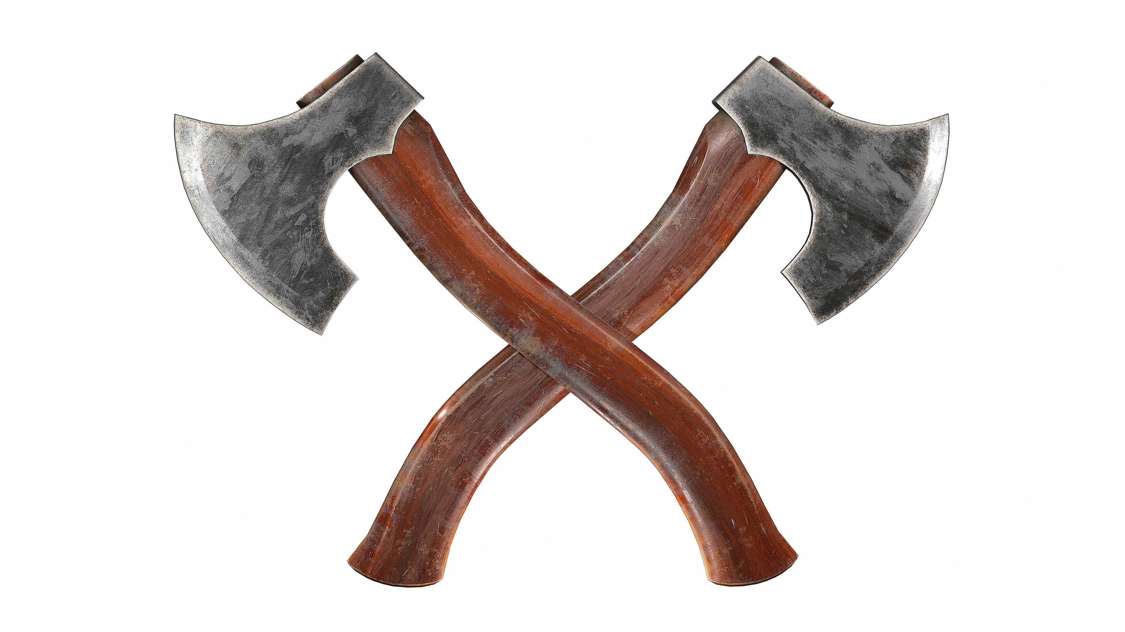 One Handed Axe -Game Ready-