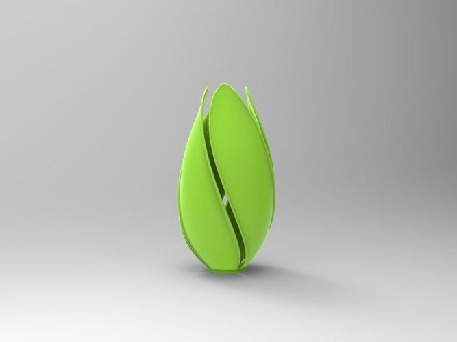 vase lamp 3d model obj mtl 1