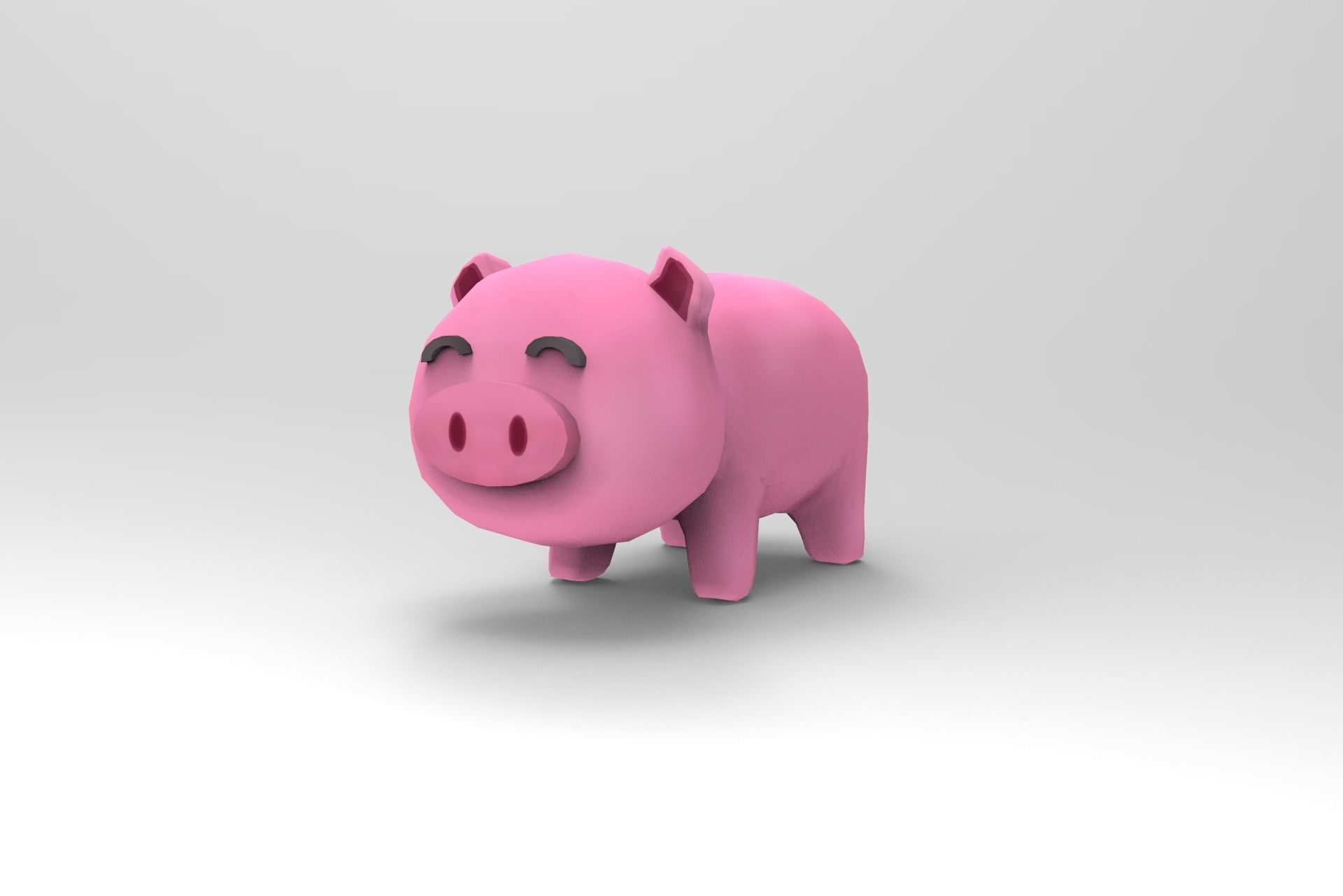 Pig - cartoon style