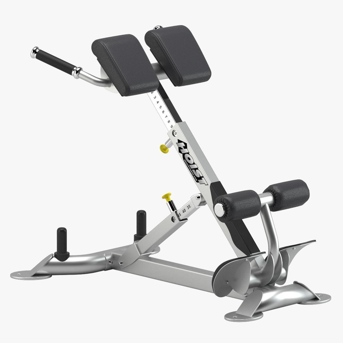 Hoist Hyperextension gym equipment