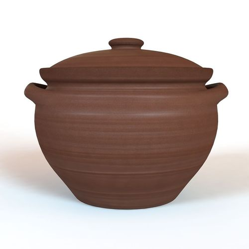 clay pot 3d model  1