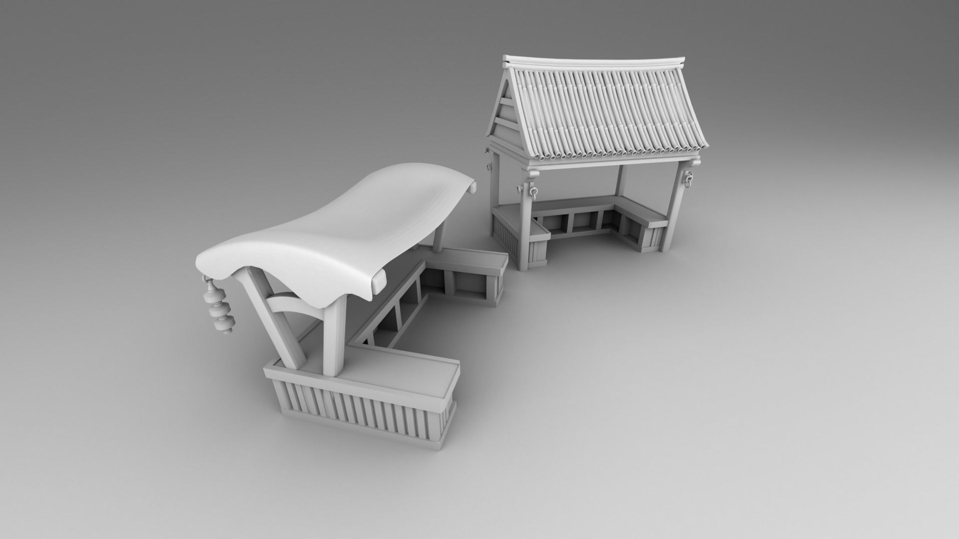 Part 3- Chinese traditional house 2-10