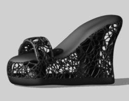 3d printable model f shoes