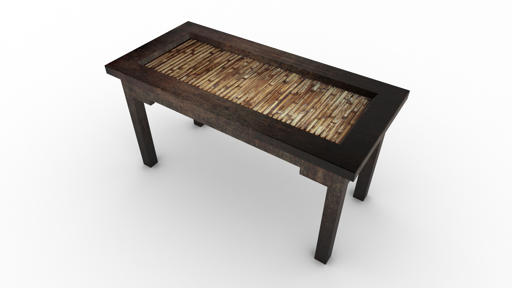 ethnic coffee table free 3d model max
