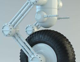 Robot on wheel 3D