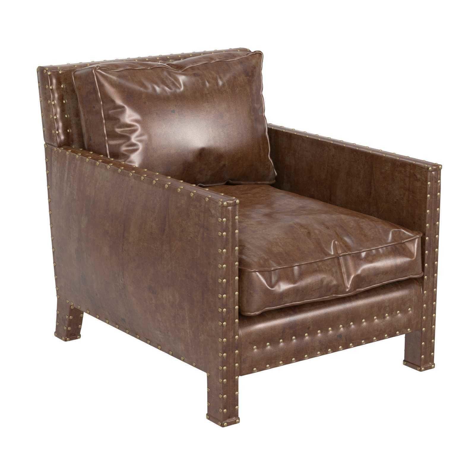 Ralph Lauren home Nailhead Club Chair
