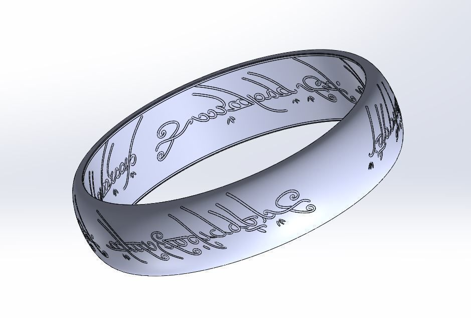Lord Of The Rings Ring - The One Ring