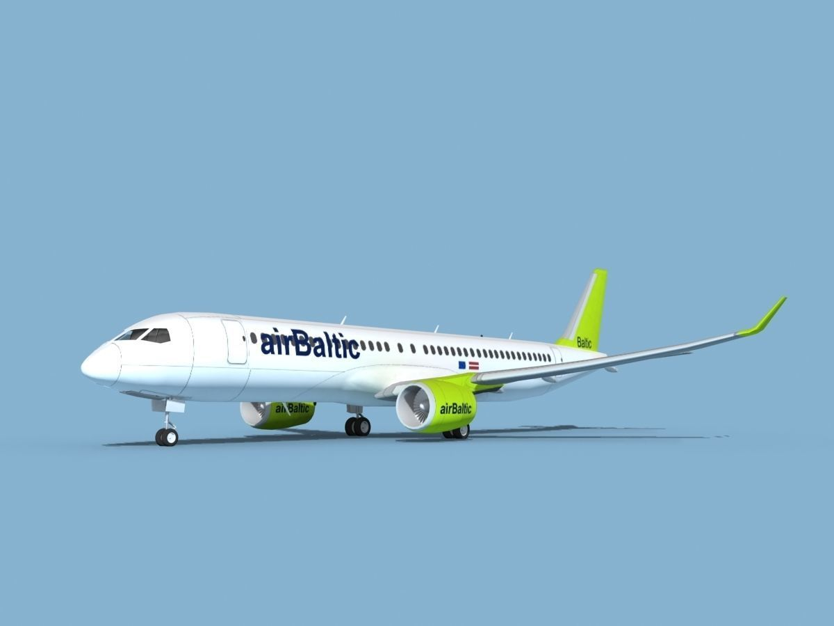 Airbus A220-300 Air Baltic