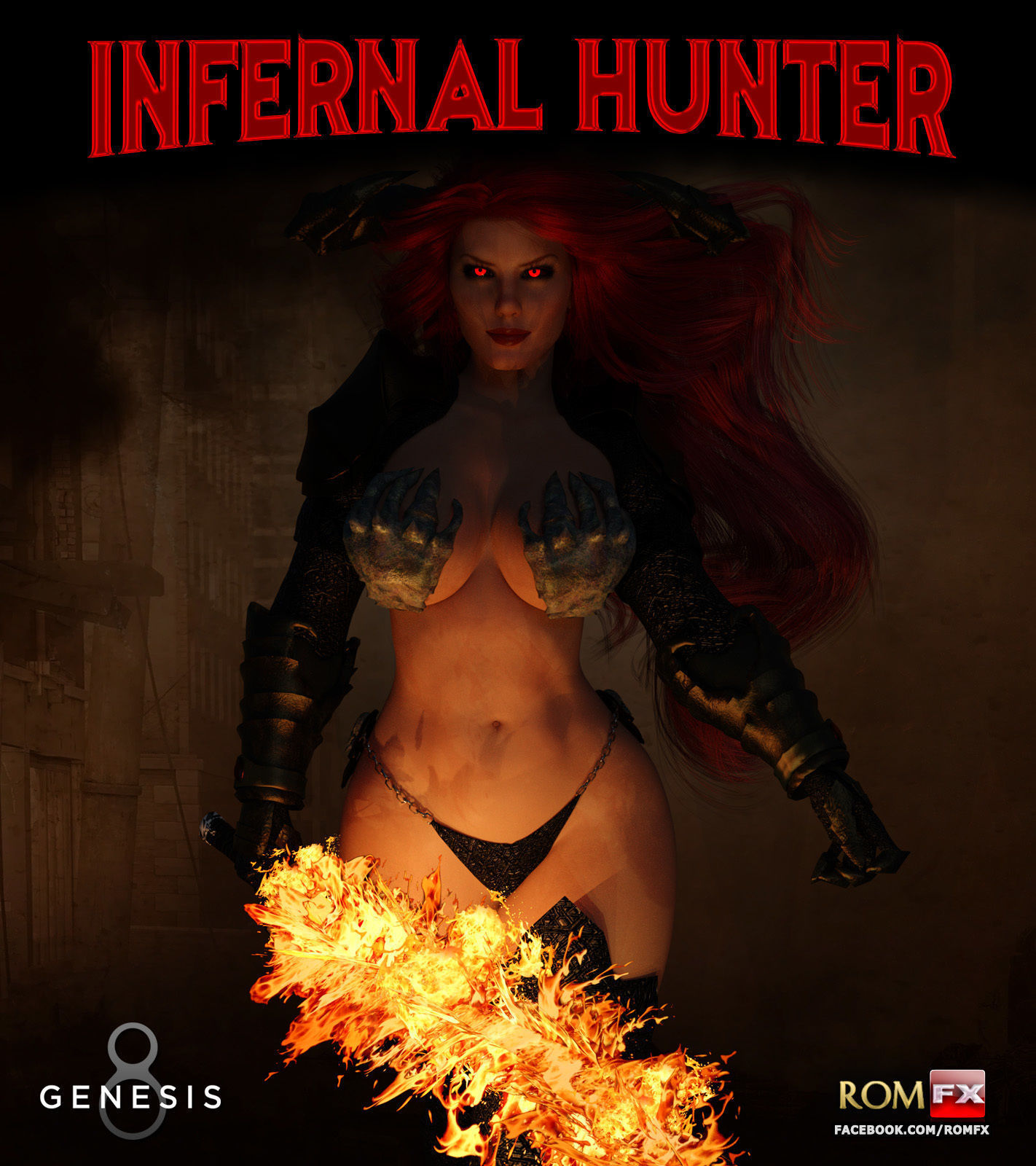 Infernal Hunter For G8F