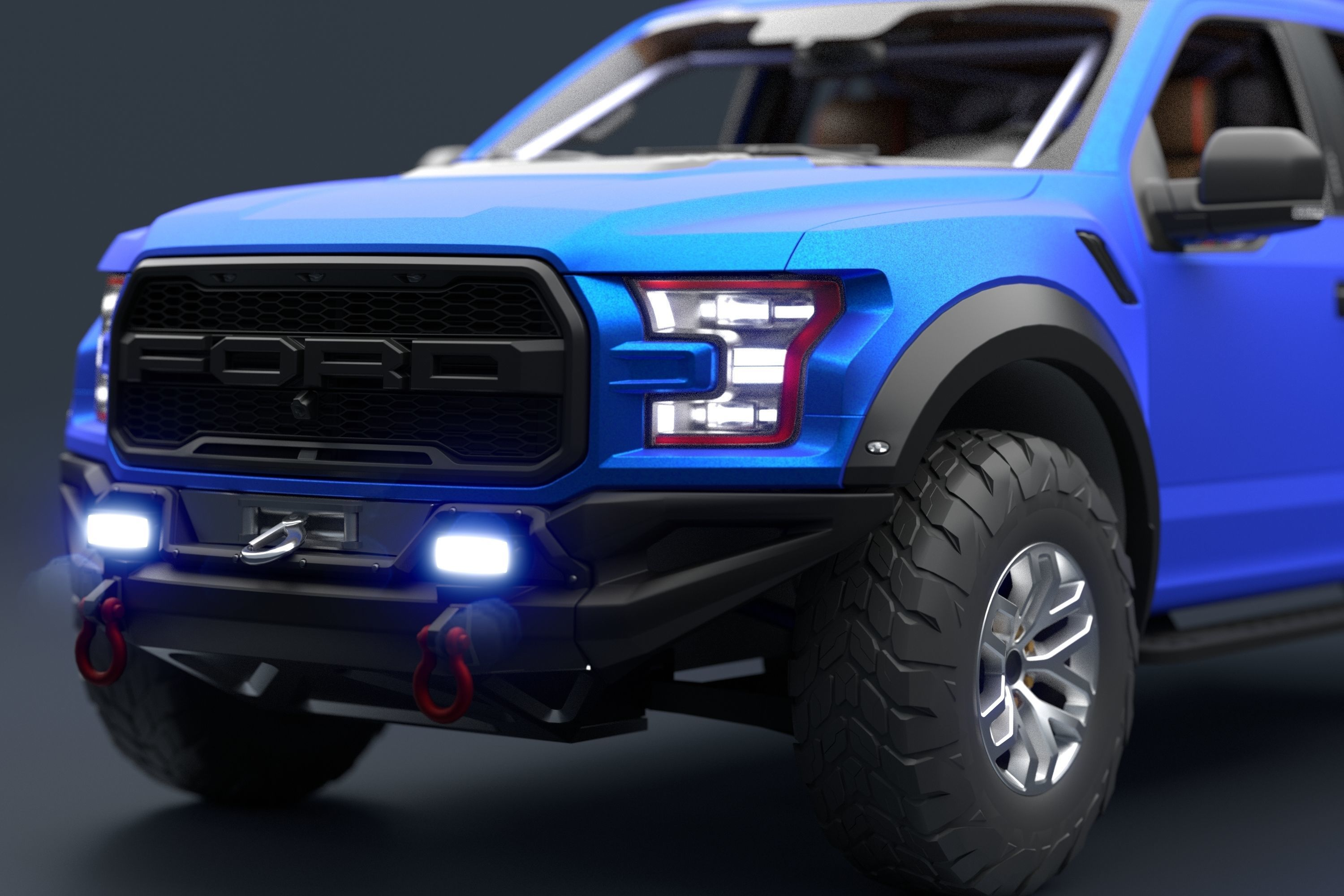 Ford F-150 Raptor 2017 Racing Style
