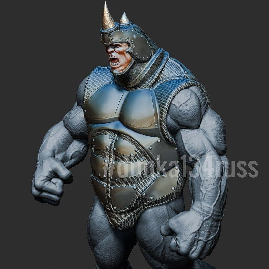 rhino spiderman
