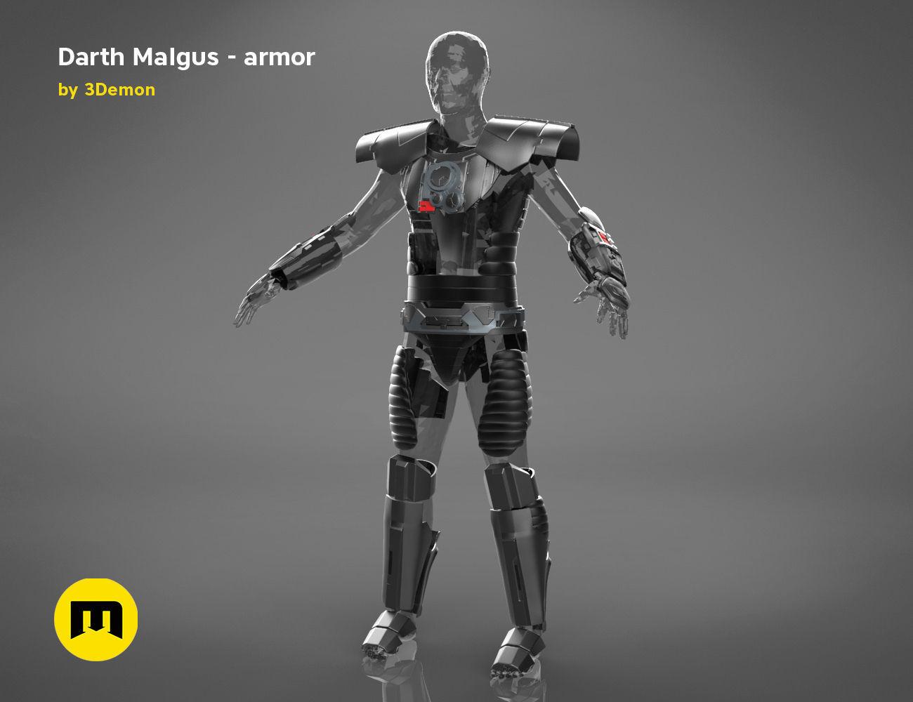 Darth Malgus armor - Star Wars