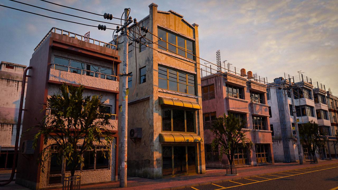 BUILDING URBAN AREA HONGKONG JAPAN CHINA ASIAN 04