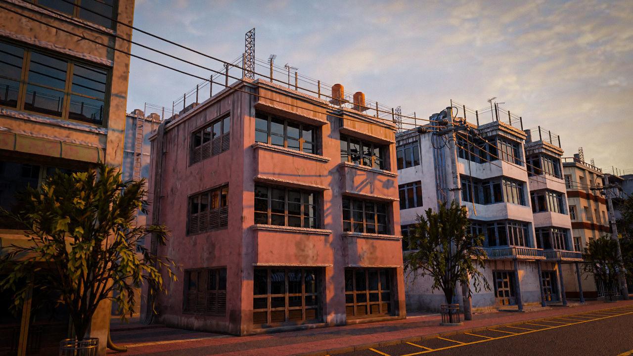 BUILDING URBAN AREA HONGKONG JAPAN CHINA ASIAN 05
