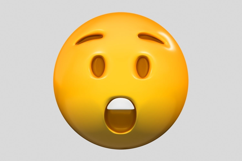 Emoji Astonished Face