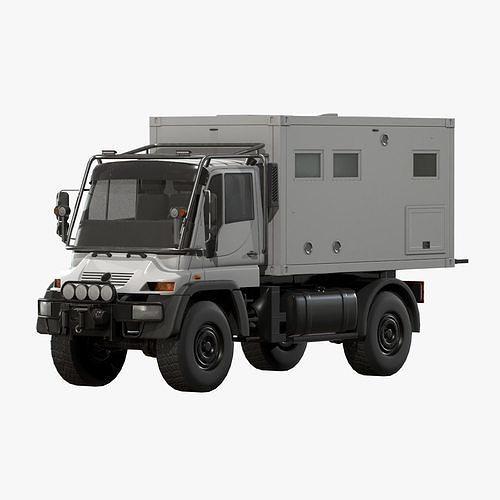 Motorhome MB Unimog U500