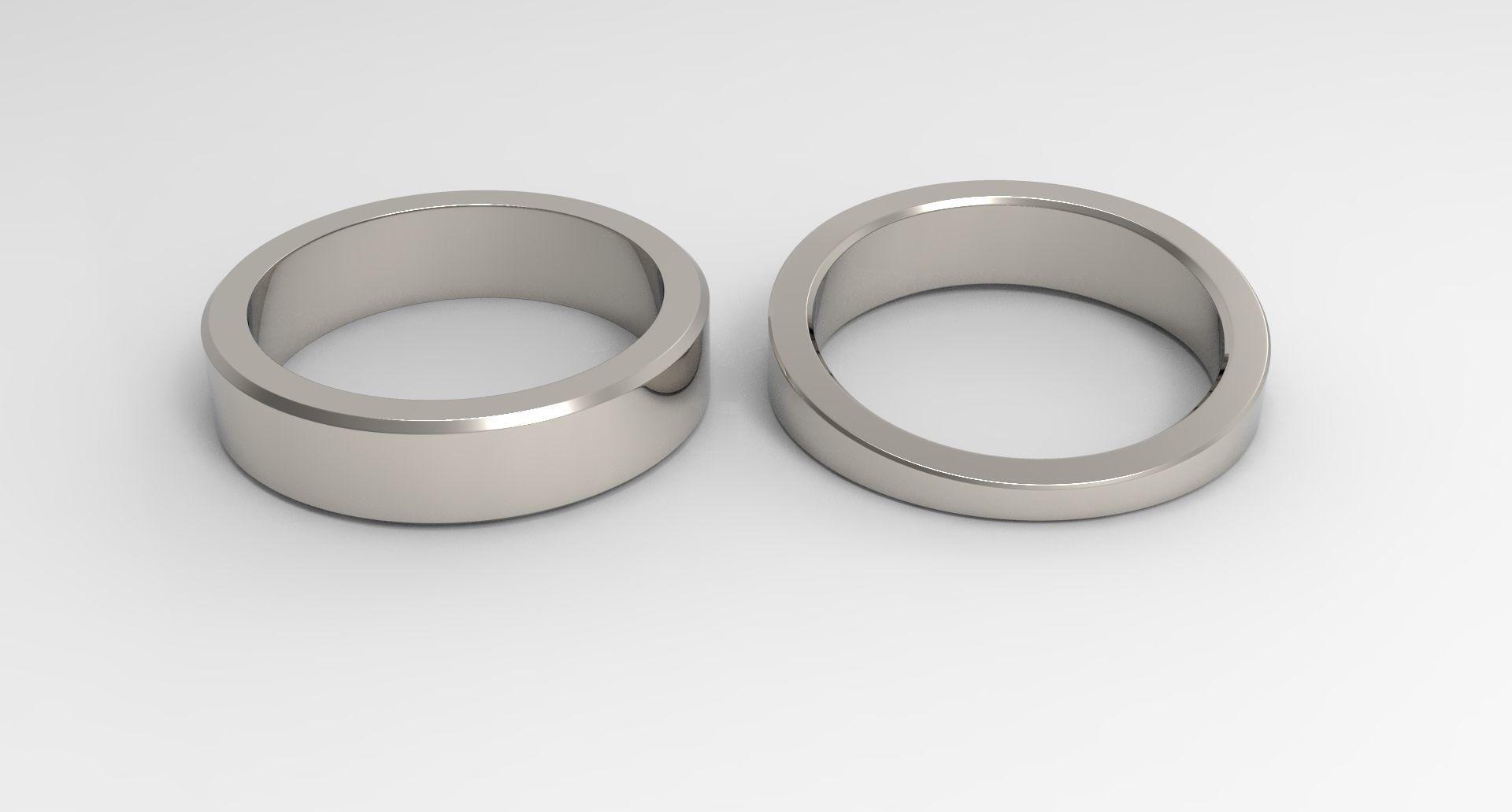God Couple Ring Platinum