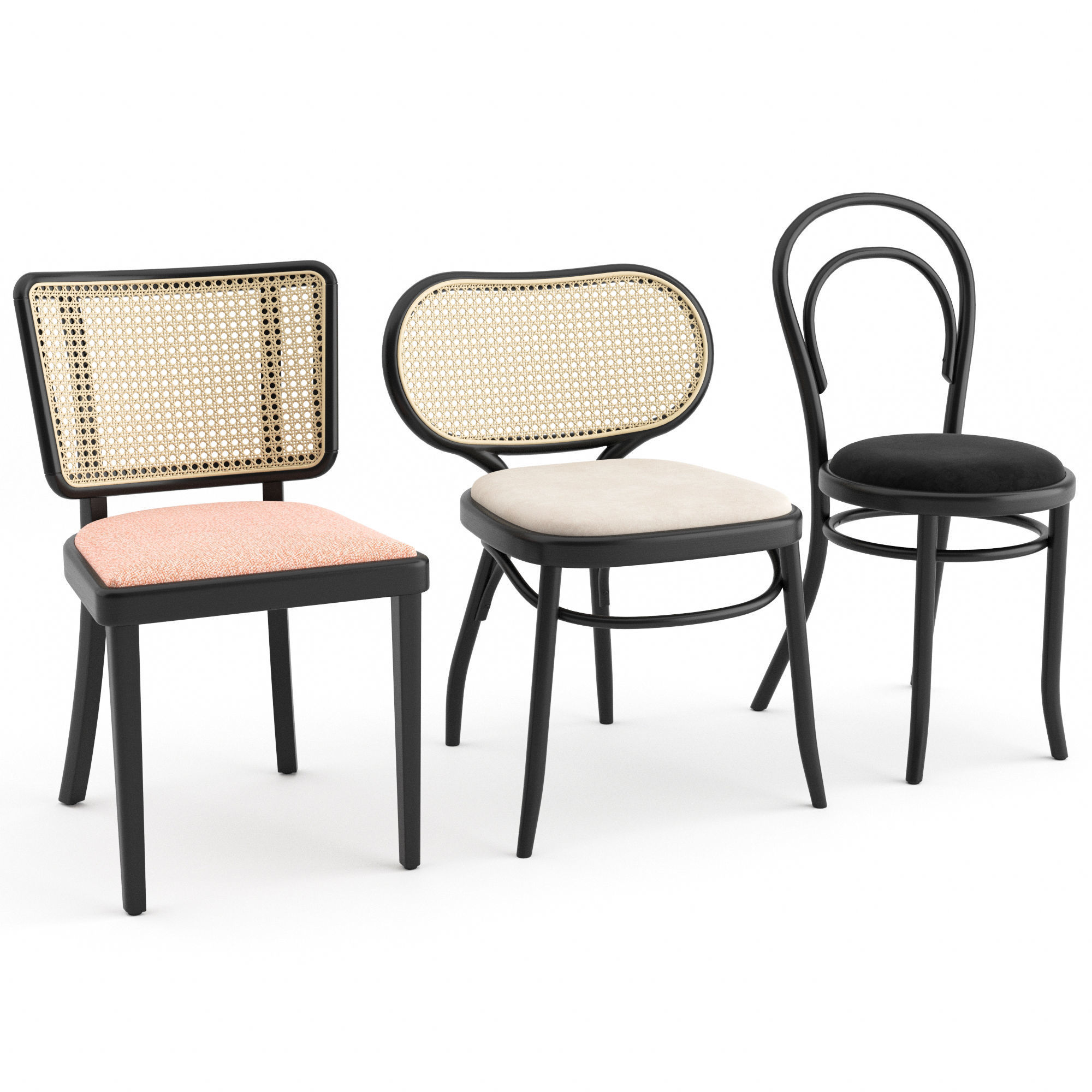 3 Chair by Gebrueder Thonet Vienna