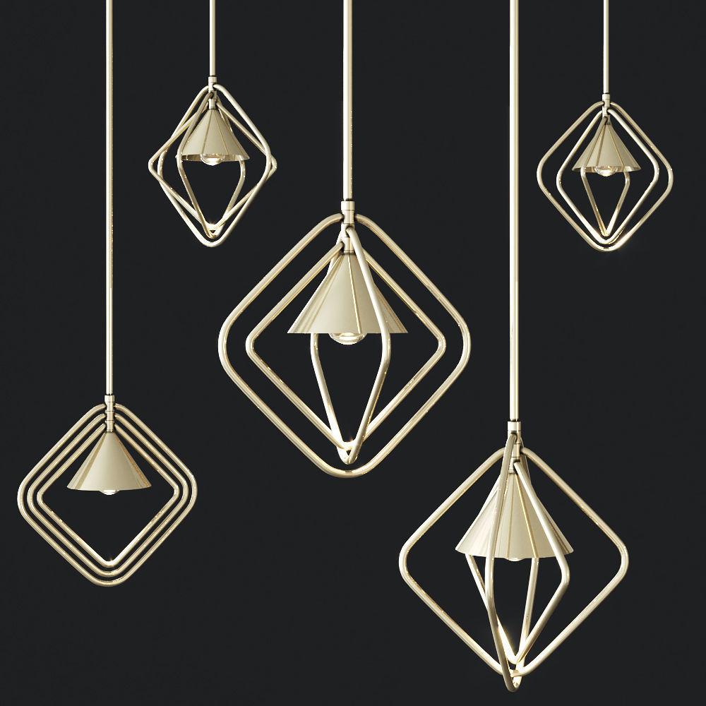 Porustudio PORTMAN Hanging lamp