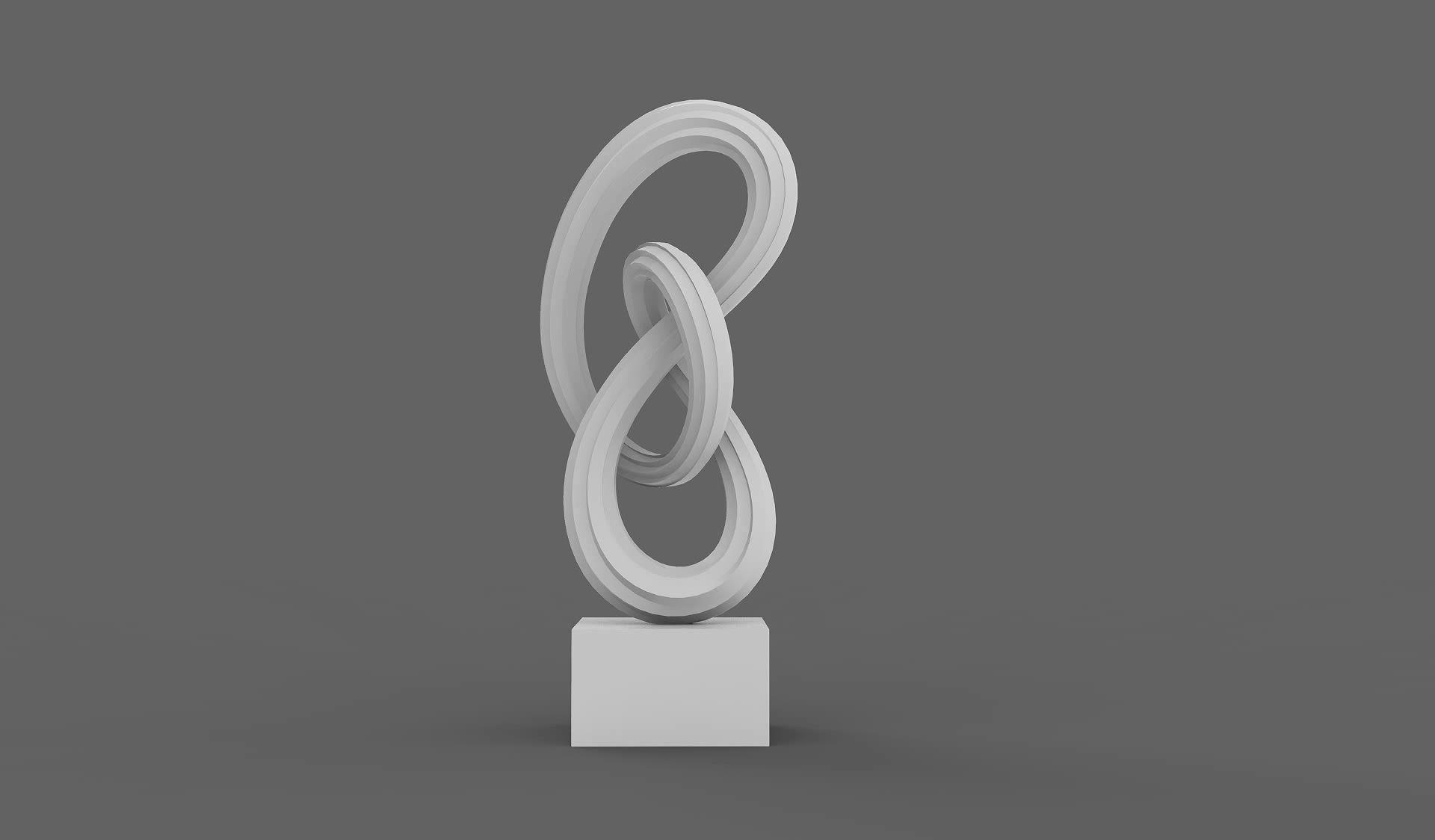 Infinity - Abstract Art Sculpture