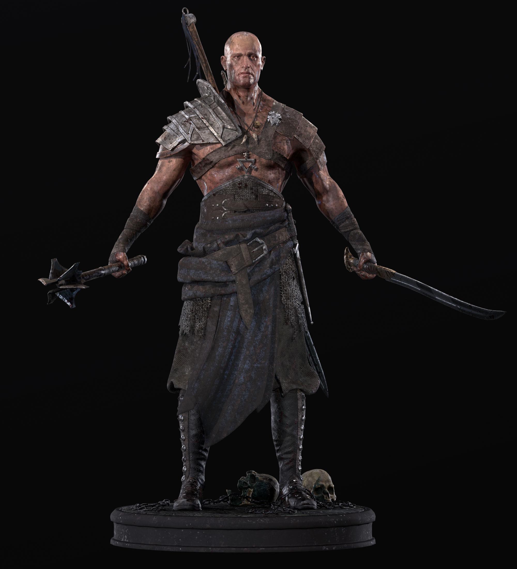 Exotic Warrior Mercenary