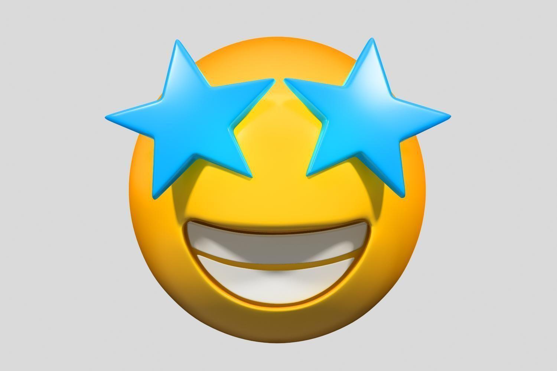 Emoji Star-Struck