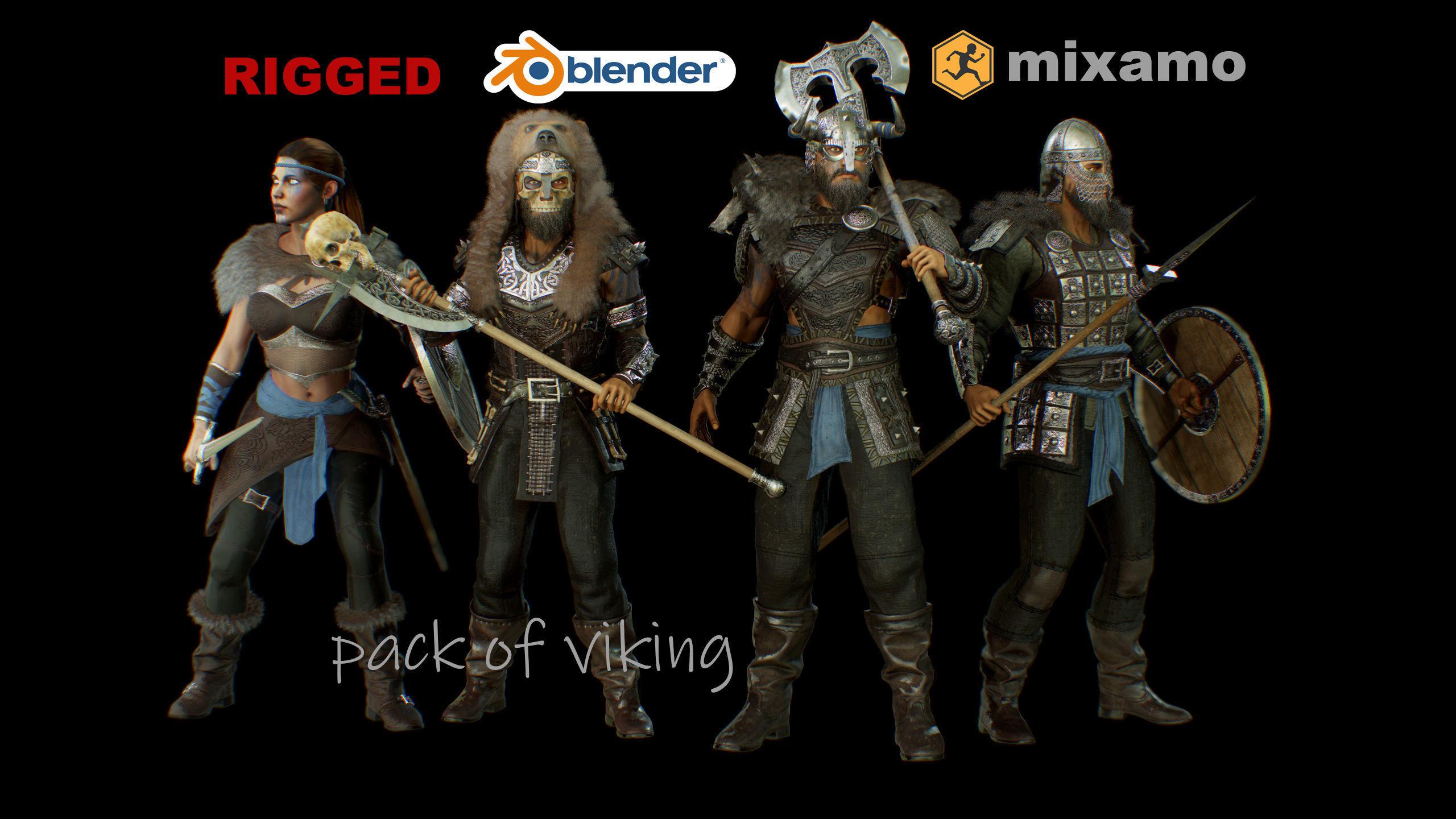 pack of viking