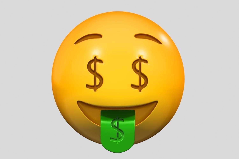 Emoji Money-Mouth Face
