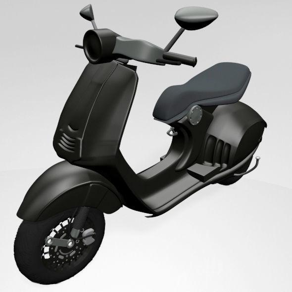 Vespa Scooter 01