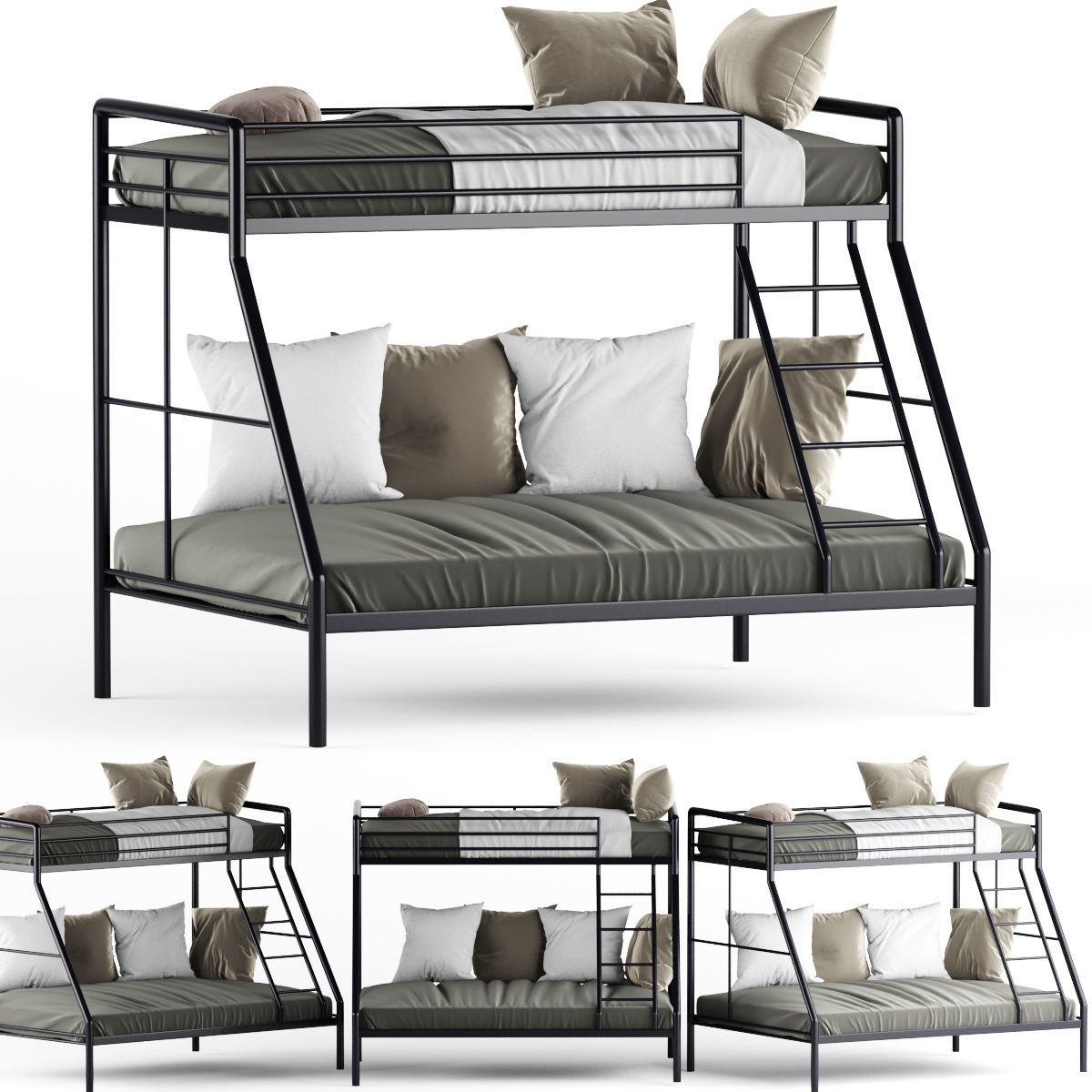 Parsons Twin Over Bunk Child Bed