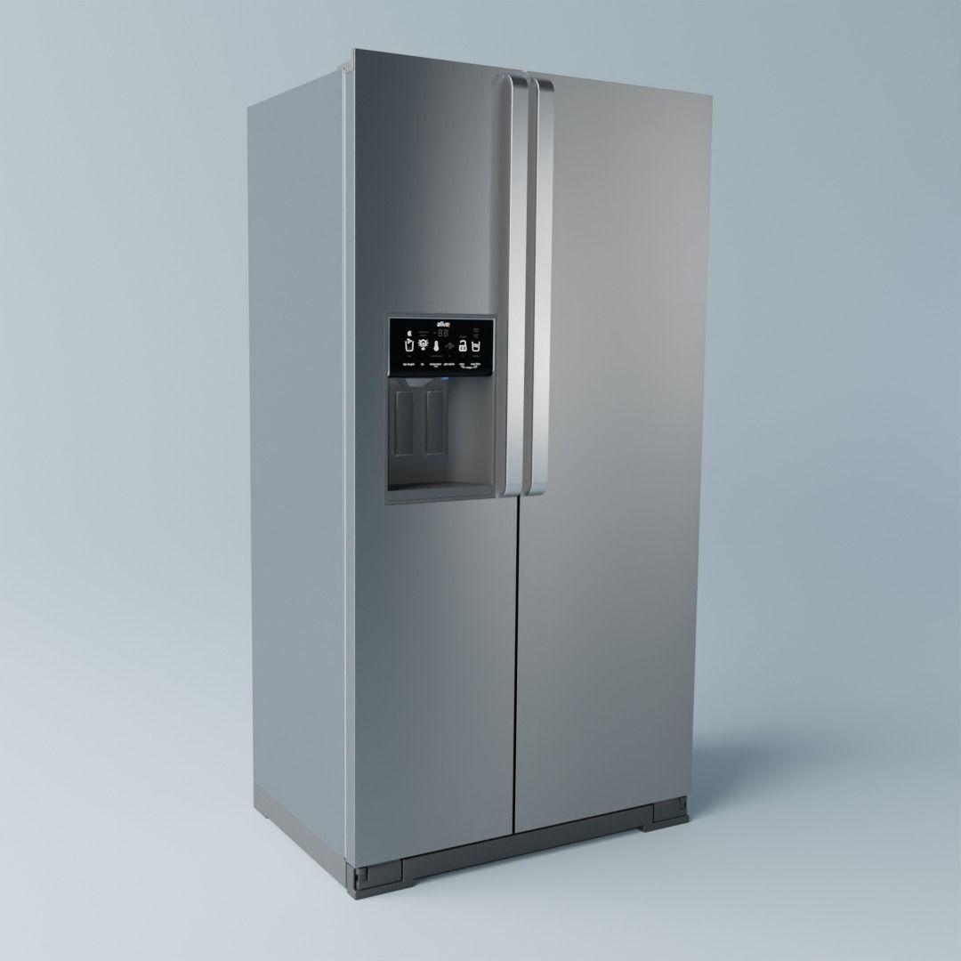 Brastemp Side by Side Refrigerator - Stainless Steel