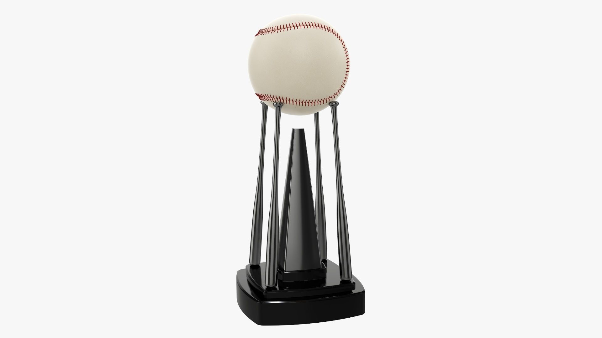 Trophy baseball ball and bats 02