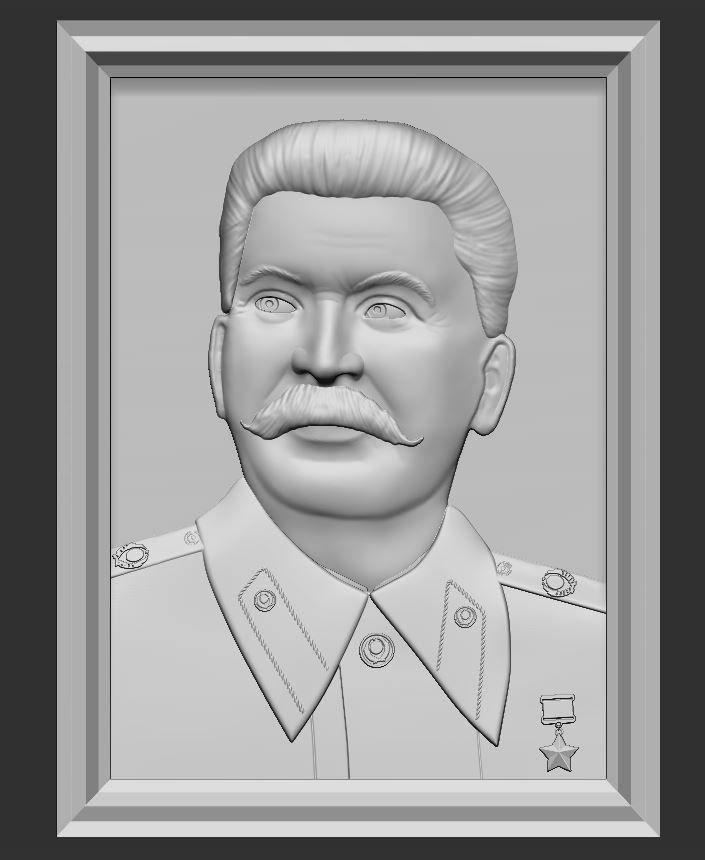 Stalin relief