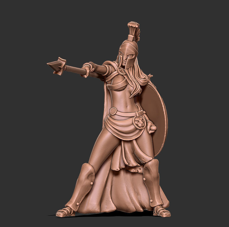 Spartan woman - Trassya 35 mm scale