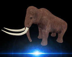 mammoth game-ready 3d model
