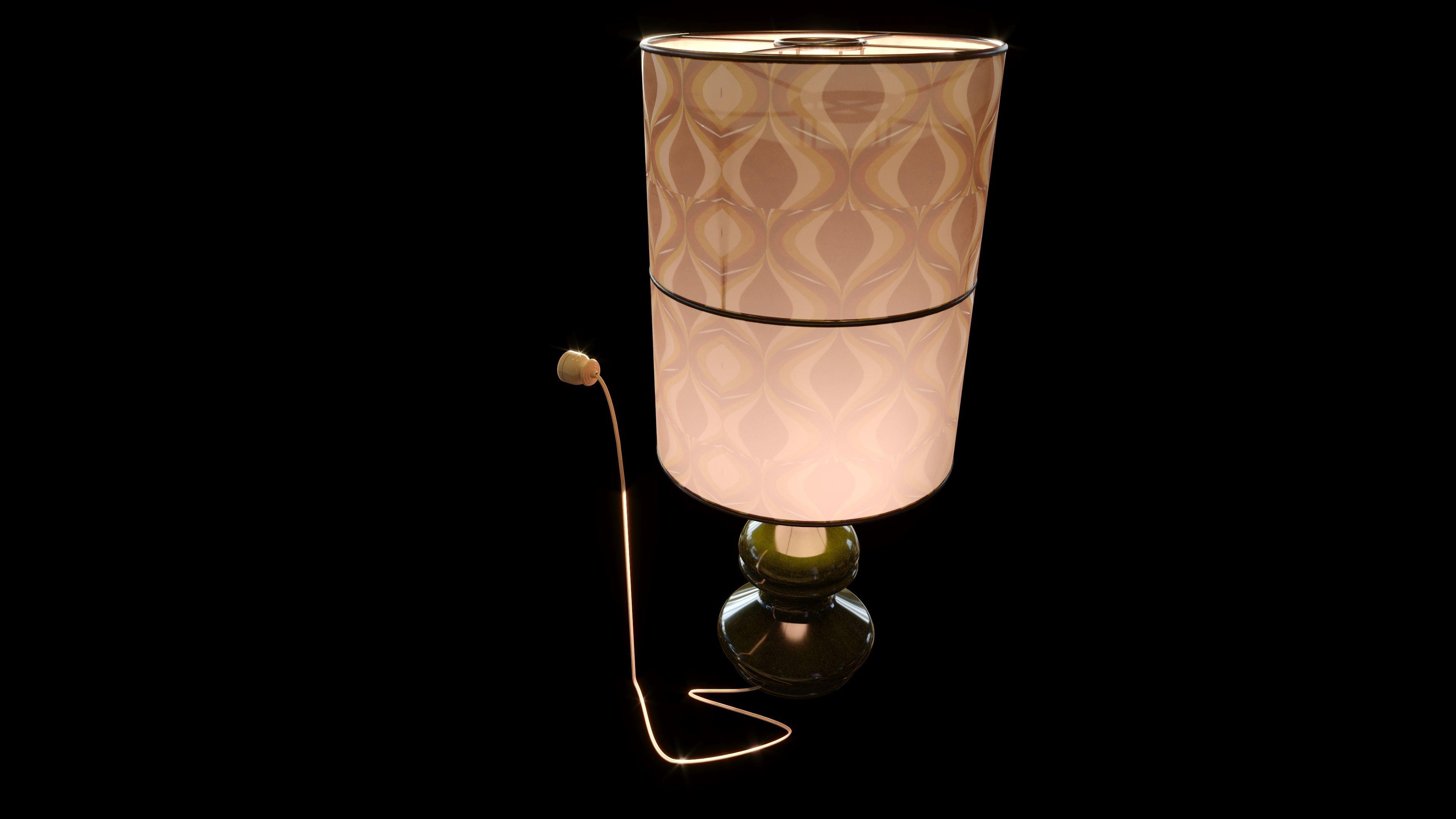 Vintage Large Table Lamp