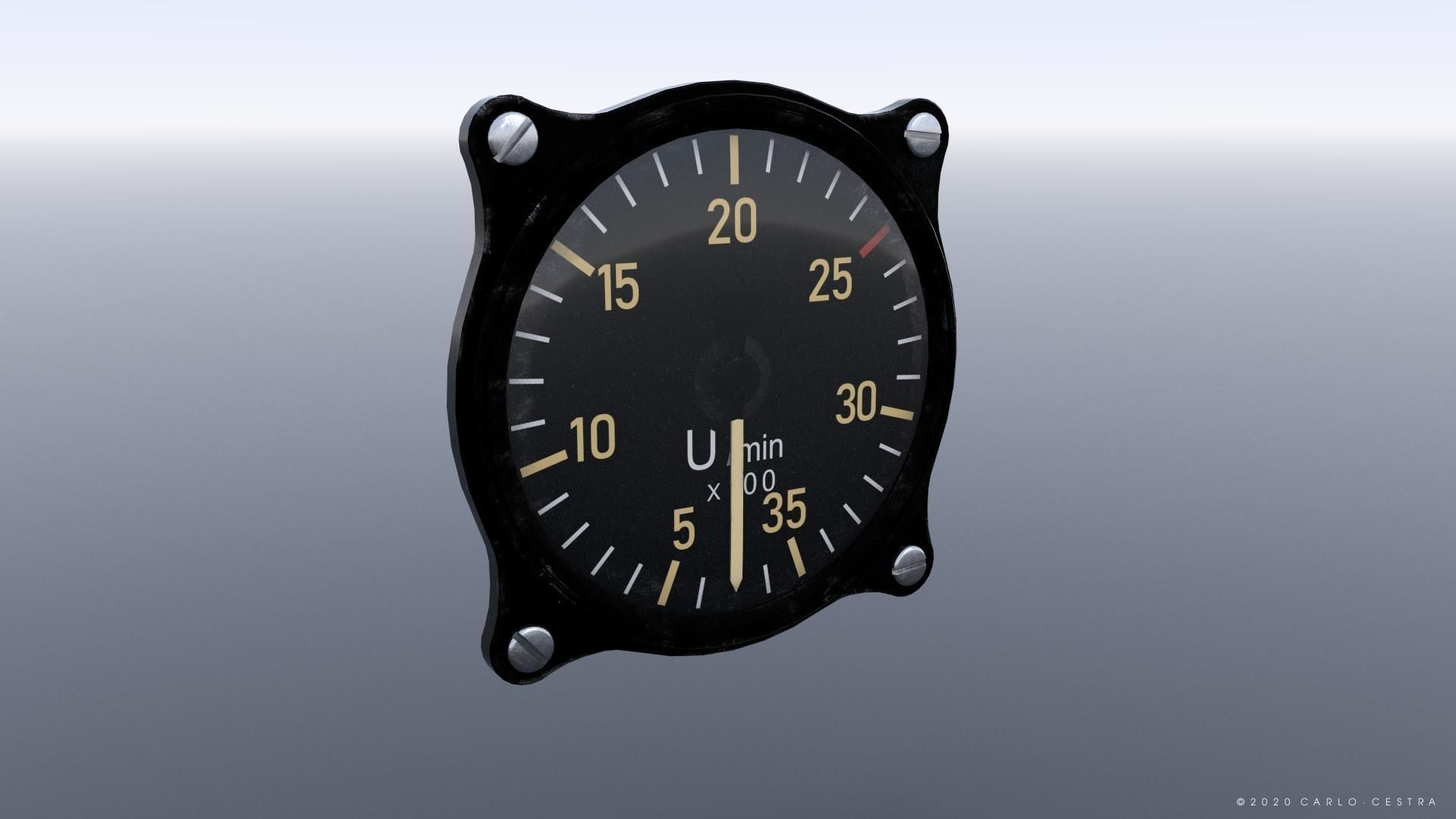 GERMAN TACHOMETER GAUGE