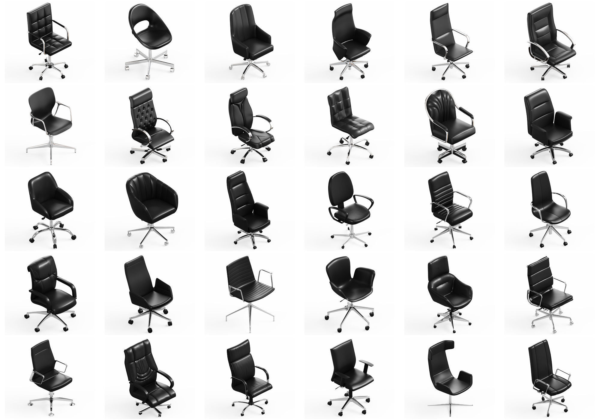 Office Chair Collection 30x