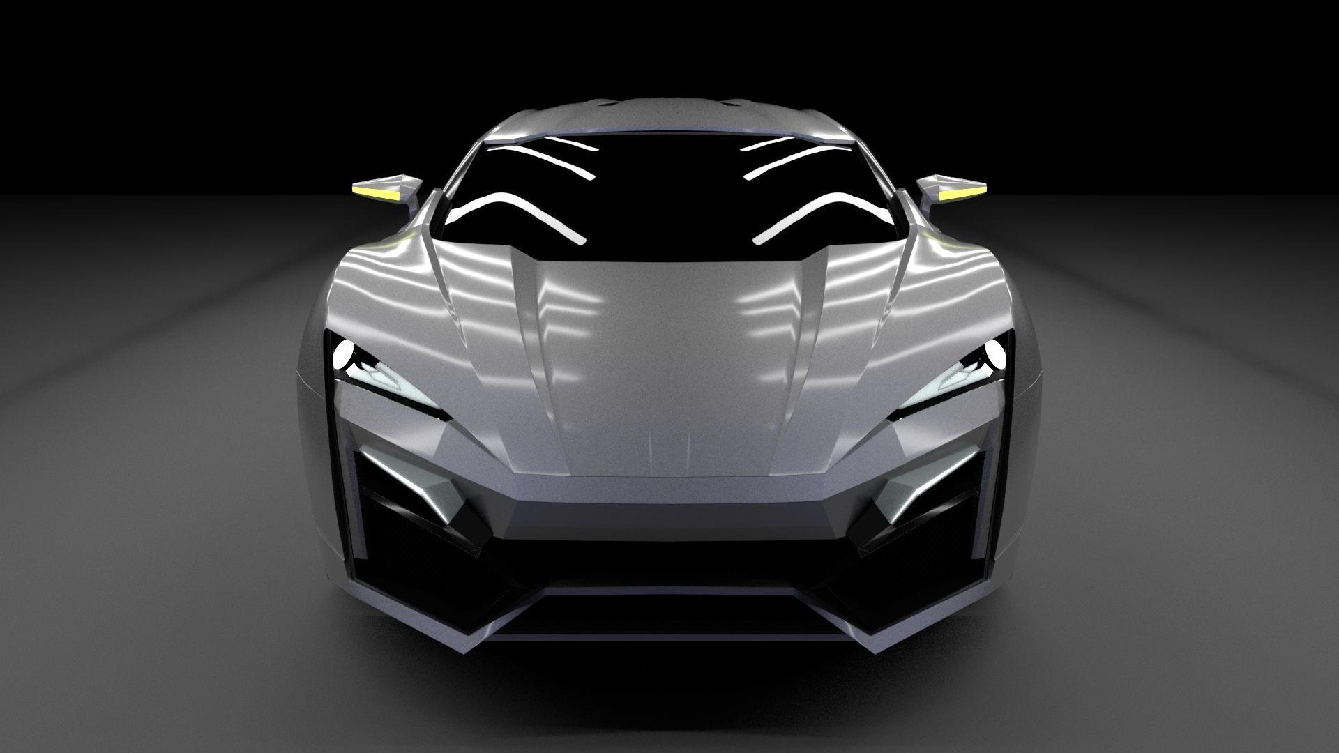 W Motors Lykan Hypersport 3D Model