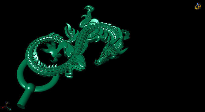 The oriental dragon model is simple but powerful