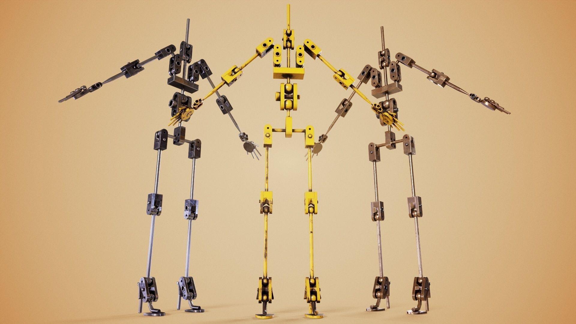 Animatronic Poseable Robot