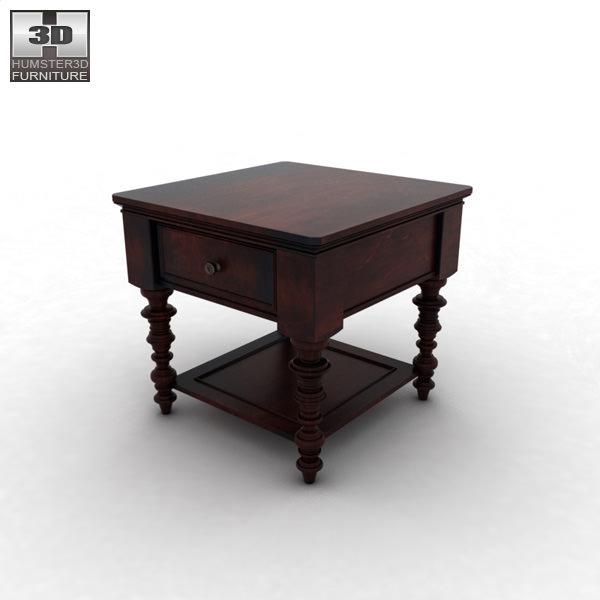 ... Ashley Key Town Truffle Table 3d Model Max Obj 3ds Fbx C4d Lwo Lw Lws 2  ...