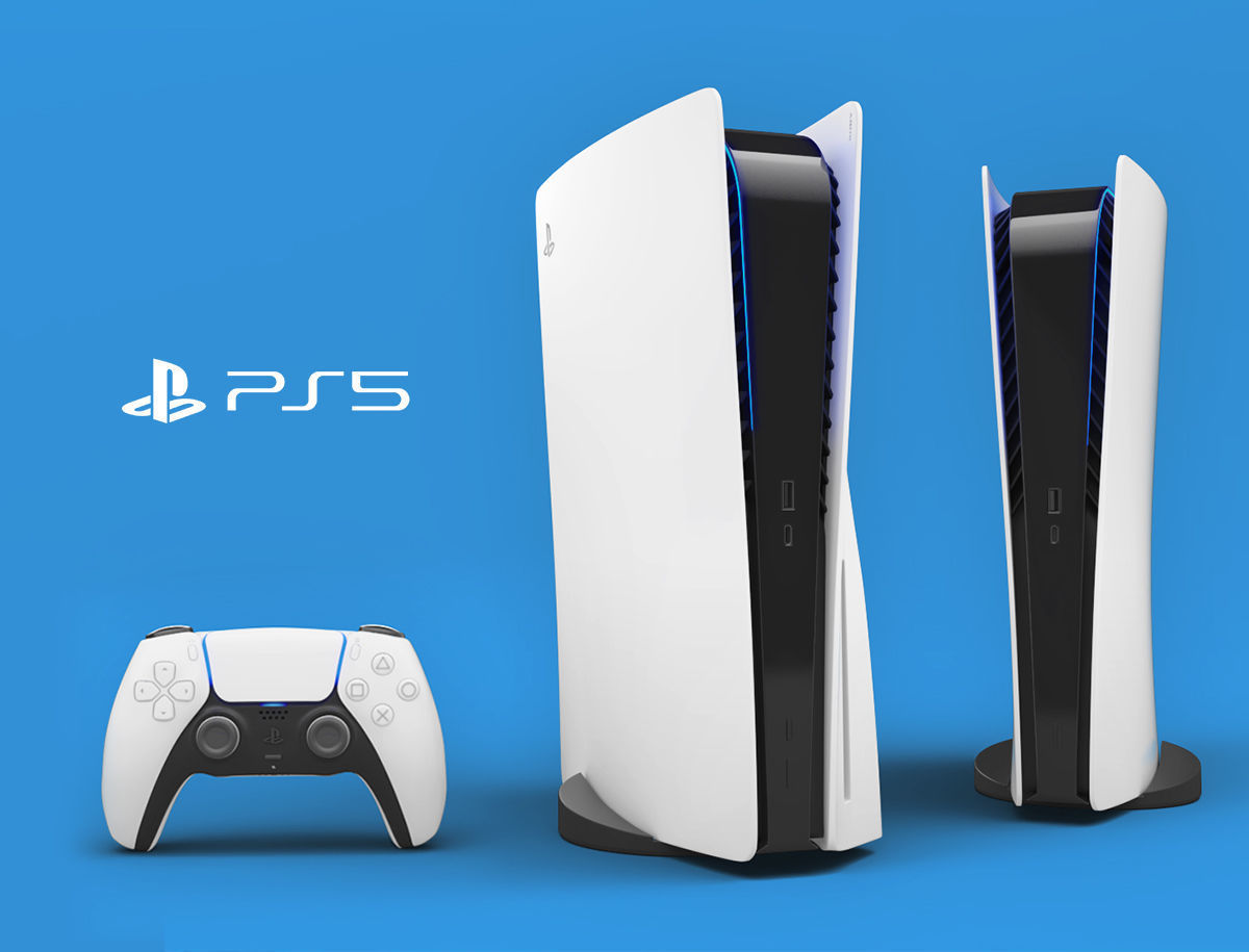 Sony PlayStation 5 with contoller