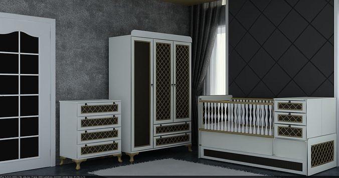 Luxury Baby Bedroom Furniture 3d Game, Luxury Baby Furniture