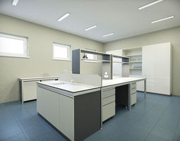 laboratory 3D model Laboratory