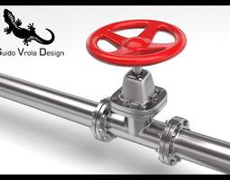 Hydraulic valve 3D